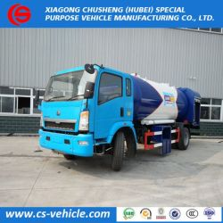 HOWO 4X2 15000liters 8tons LPG Refilling Road Tanker Trucks for Gas Cylinder Filling