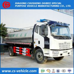 FAW Insulated Milk Transport Truck 12000L 12tons Milk Tanker Truck