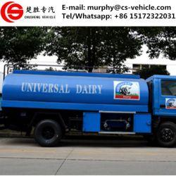 HOWO 4X2 Milk Transport Truck Milk Tank Truck Sale