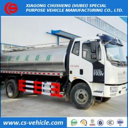 FAW Insulated Milk Transport Tanker Truck 12000L 12tons Milk Tank Truck
