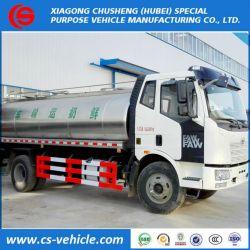 FAW Insulated Milk Transport Tanker Truck 12000L 12tons Milk T