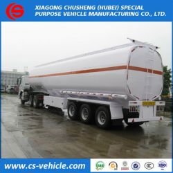 3 Axles Water Tank Trailer, 40000L Water Delivery Trailer, Water Transport Tank Semi Trailers for Sa