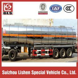 Stainless Steel Tanker Semi Trailer 30000L