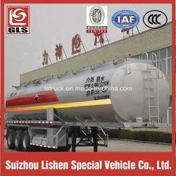 3-Axle 38000L Chemical Liquid Tank Semi Trailer for Corrosives