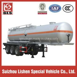 3 Axle Stainless Steel Semi Trailer with Tanker