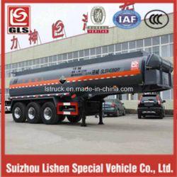 3-Axle 27000L Chemical Liquid Tank Semi Trailer for Corrosives