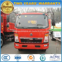 2 Tons 4X2 Small Crane Truck 2 T Sinotruk Mounted with Crane