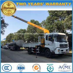 200kw Timber Loading Crane 6 Ton 8 Ton 10 Ton Truck with Crane
