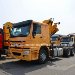 Sinotruk 10 Tons Loading Truck with Telescopic Foldable Arm Crane