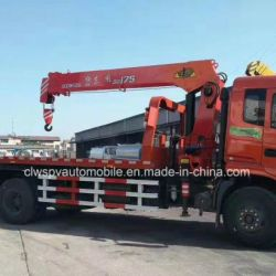 4X2 Wrecker 6 Tons Loading Truck with Telescopic Crane Price