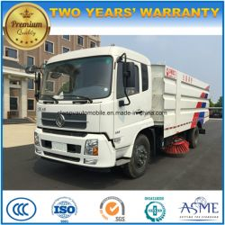 135kw Auto Wash and Cleaning Truck 10 M3 Road Sweeper Truck Price