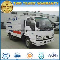 Isuzu 6 Wheels LHD Street Sweeper 5000L Road Sweeper Truck Price