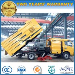 Dongfeng 4X2 Rhd LHD 5000 L Road Sweeper Cleaning Truck