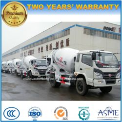 Forland 3 Cubic Meters Concrete Mixer Truck for Export