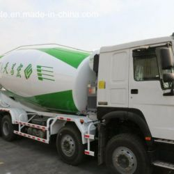 Brand New Sinotruk HOWO 371HP 8*4 6m3, 8m3, 9m3, 10m3, 12m3, 14m3, 16m3 Concrete Mixer Truck