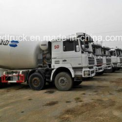 Concrete mixer truck used, cement