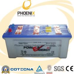 JIS Standard Dry Charged Sealed Lead Acid Truck Battery