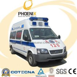 Professional Supply Ford Ambulance with Petrol Engine