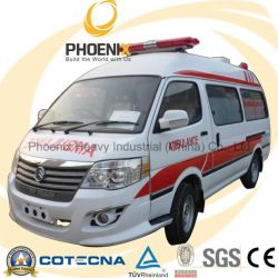 Professional Supplier Rhd 2WD Middle Roof Ambulance with Gasol