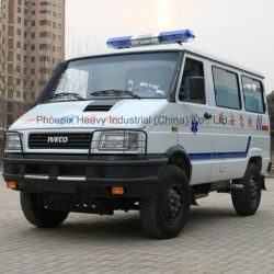 LHD 4WD Iveco Ambulance with Iveco Diesel Engine