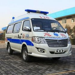 Lowest Price LHD Gasoline Engine Ambulance for Intensive Care