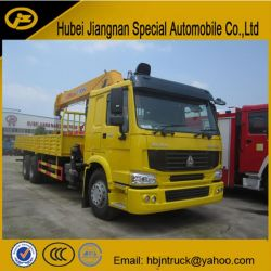 12 Ton Hydraulic Crane Boom Truck
