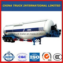 Best-Sellng Silo Tanker Trailer Bulk Cement Trailer with Tri-A
