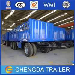 Tri Axle Utility Full Trailer Cargo Trailer for Hot Sale