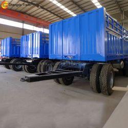 30 Ton 2 Axle Cargo Faltbed Full Trailer