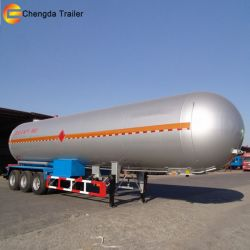 60m3 LNG Storage Tank Trailer for Sale