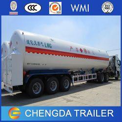 China Manufacturer 52.6cbm 3 Axles LNG Tank Trailer for Sale