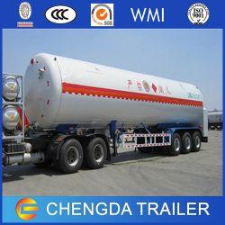 Tri-Axle Tanker Trailer for LNG Transportation for Sale