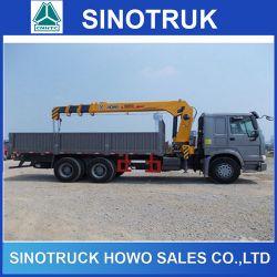 Sinotruk Cargo Truck 336HP 10ton 12ton 10 Wheeler HOWO Crane Truck