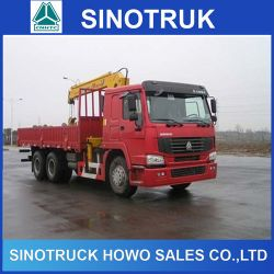 10ton HOWO Truck Mounted Crane with Best Crane