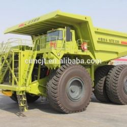 Terex Electric Wheel Mineral Dump Truck Model Nte330