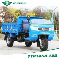 Waw Diesel Dump Three Wheel Truck for Sale From China (WD3B352