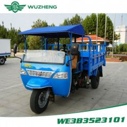 Diesel Chinese Waw Three Wheel Vehicle with Rops & Sunshad