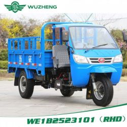 Diesel Right Hand Drive Waw Chinese Tricycle for Sale