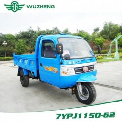 Waw Closed Cargo Diesel Motorized 3-Wheel Tricycle with Cabin From China