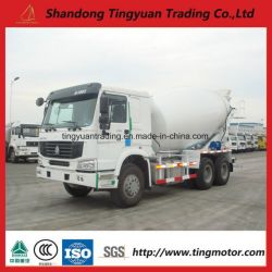 Sinotruk HOWO 10 Wheels Concrete Mixer Truck with 10 Cubic Capacity