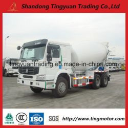 10m Cubic HOWO 6*4 Mixer Truck for Sale