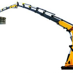 18 Ton Truck Mounted Crane (articulated boom/knuckle boom)