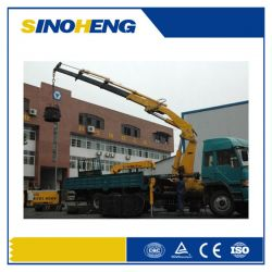 Dongfeng Lorry-Mounted Crane Sq12zk3q Knuckle Boom Crane 12 Ton