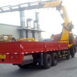 30 Ton Dongfeng Truck Heavy Lifting Crane