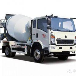 HOWO 4X2 4m3 Light-Duty Mixer Truck Hot Sale