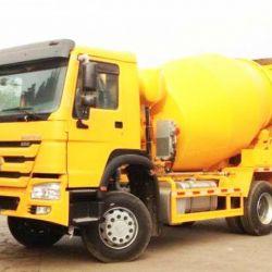 Sinotruk HOWO 4X2 4m3 Light-Duty Mixer Truck Hot Sale