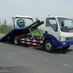 3-4 Ton Flatbed Tow Truck Wrecker with Good Price