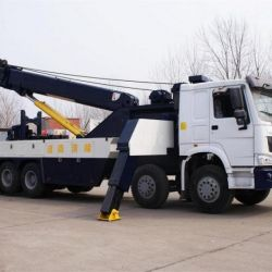 HOWO Heavy Wrecker Truck Removal Truck with 40ton Lifting Capacity
