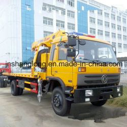 Rhd 4X2 5tons Flatbed Towing Truck, 4t Tow Truck for Sale