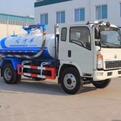 Sinotruk HOWO 4X2 Sewage Suction Truck for Sales